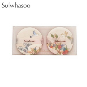 SULWHASOO Perfecting Cushion Puff 2ea [Peach Blossom Spring Utopia Limited Edition]